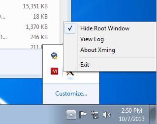 X windows for Microsoft Windows help
